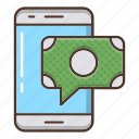 business, currency, money, online, strategy icon