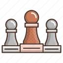 business, chess, game, plan, seo, strategy icon