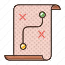 ideas, strategy icon