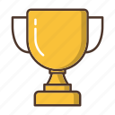 business, prize, strategy, success, trophy, winner icon
