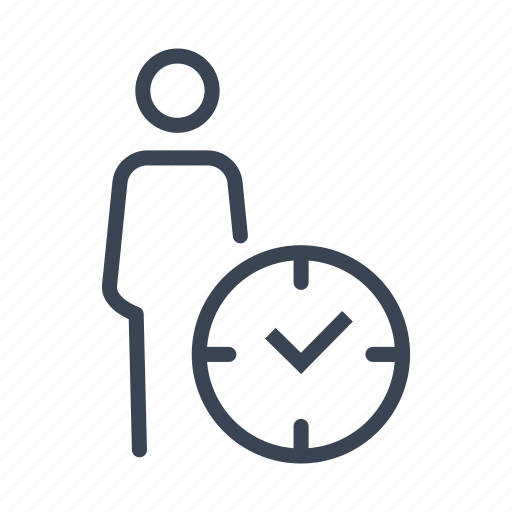 appointment, businessman, busy, clock, deadline, time icon