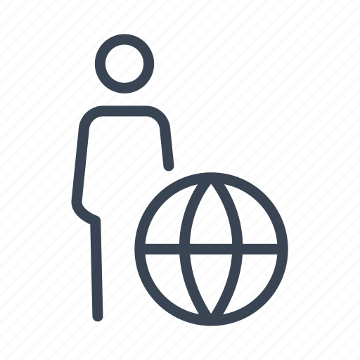 Business, businessman, global, international, world icon - Download on Iconfinder