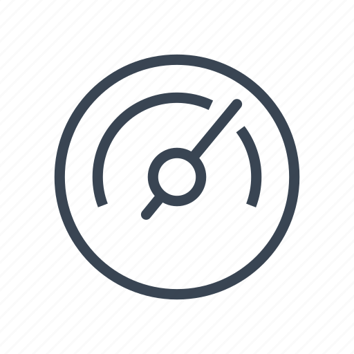 analysis, business, dashboard, gauge, speed icon
