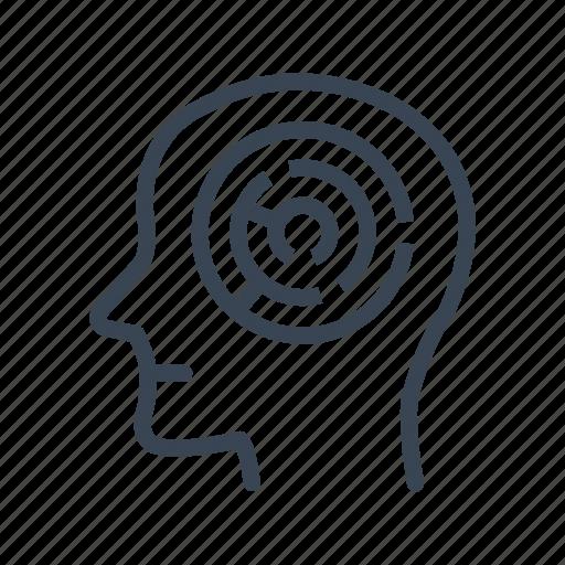 Brain, head, maze, mind, problem, solution, strategy icon - Download on Iconfinder