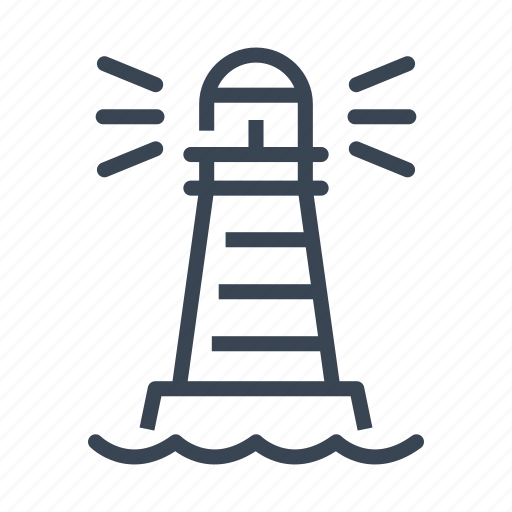 Aim, building, business, direction, goal, lighthouse, strategy icon - Download on Iconfinder