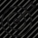 achievement, dart, goal, objective, performance, success, target icon