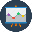analysis, data, graph, presentation, proactive, report, stats icon