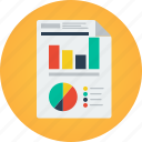 analysis, analyze, business, data, document, graph, graphs, marketing, objective, paper, plan, report, sales, statistics, stats icon