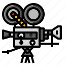 camera, cinema, entertainment, film, movie