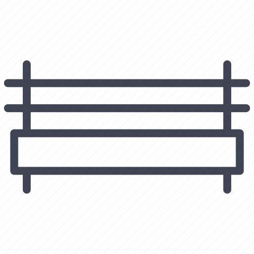 bench, elements, furniture, park, street icon