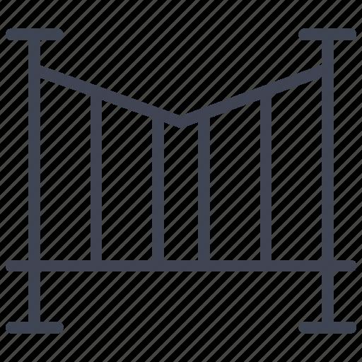 bridge, elements, road, street, traffic, transport icon