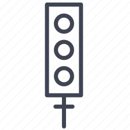 elements, light, road, street, traffic, transport, transportation icon