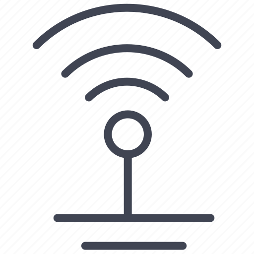 communication, connection, elements, internet, street, wifi, wireless icon