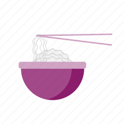 asian sticks, food, noodles, rice noodles, spaghetti, street, udon icon