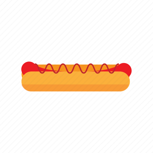 fast food, food, hot dog, street icon
