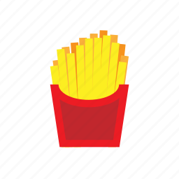 crisps, fast, french, fries, potato, street icon