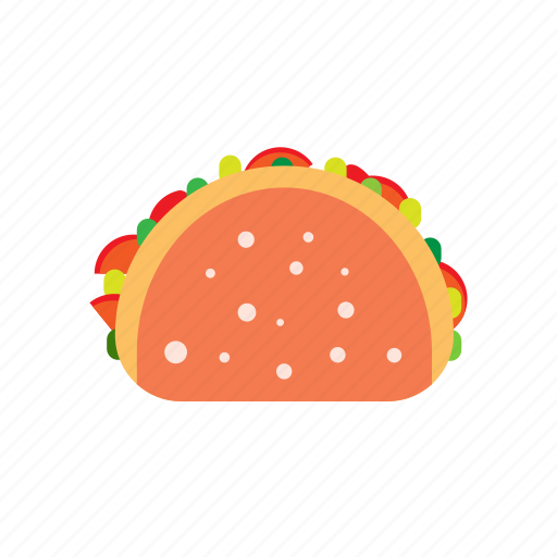 burrito, fast food, food, mexican, street, tortilla icon