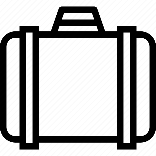 bag, briefcase, dress, hotel, travel icon