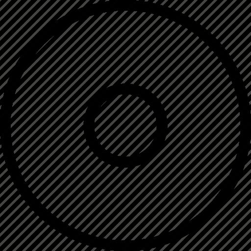 circle, control, controls, record, stop icon