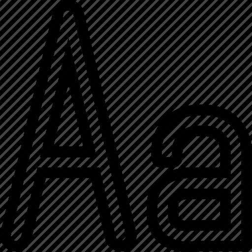design, font, interface, text, write icon