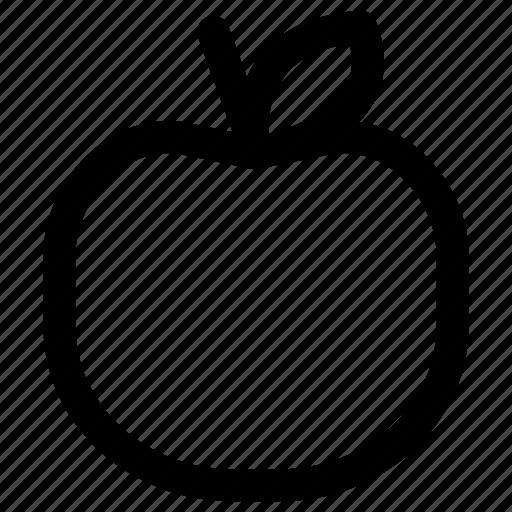 apple, food, fruit, healthy, vegetable icon