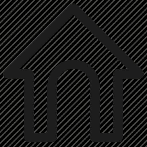 dog house, home, pet, pet house icon