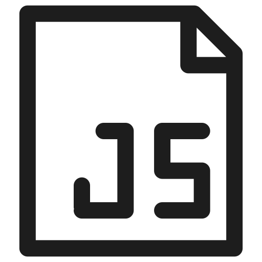 coding, development, extension, filetype, javascript, programming icon