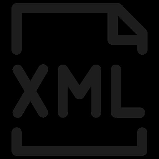 coding, data, filetype, programming, xml icon