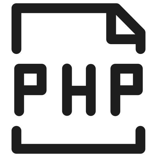 code, extension, filetype, html, php, programming icon
