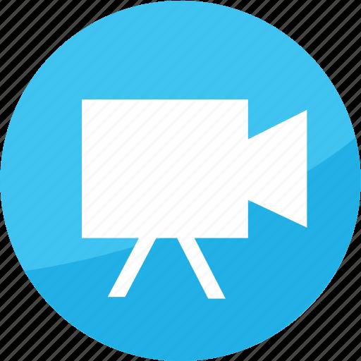 camera, media, movie, play, studio, video icon