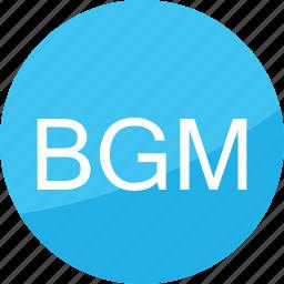 audio, bgm, film, music, sound, studio, volume icon
