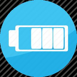 battery, electric, energy, film, medium, power, studio icon