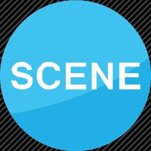 creative, film, media, movie, multimedia, scene, studio icon