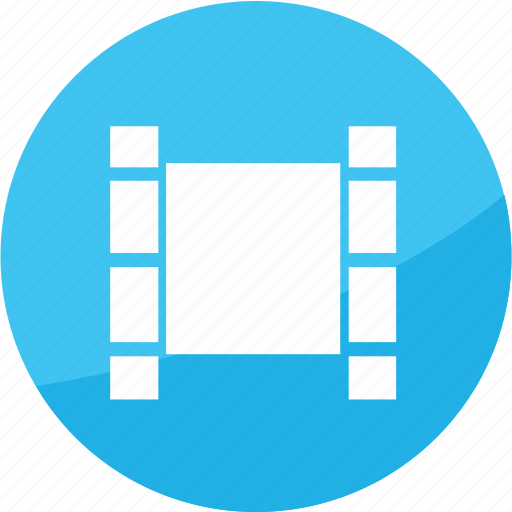 film, media, movie, play, player, studio, video icon