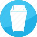 bin, delete, film, recycle, studio, trash icon