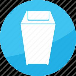 bin, delete, film, recycle, studio, trash icon