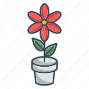 ecology, flower, garden, nature, plant icon