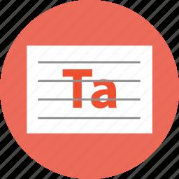 english, text, write icon