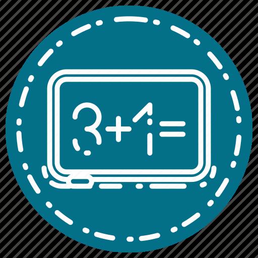 board, knowledge, learning, school, study icon