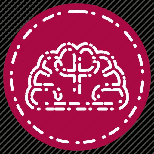 brain, idea, knowledge, learning, mind, school, study icon