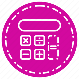 calculator, knowledge, learning, school, study icon