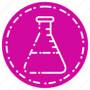 knowledge, lab, learning, school, study, tube icon