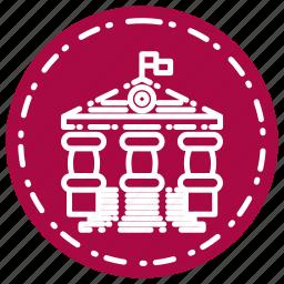 knowledge, learning, school, study, univ icon