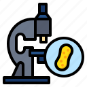 bacteria, biology, lab, microscope icon