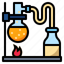chemistry, lab, laboratory, test, tube, volatile icon