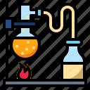 chemistry, lab, laboratory, test, tube, volatile icon