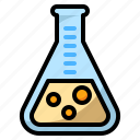 bubble, lab, science, test, tube icon