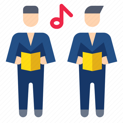 chior, chorus, music, song, voice icon
