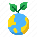 earth, ecology, global, green, plant, startup icon