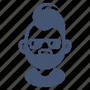 avatar, hairstyle, male, man, short hair, sunglasses, teen icon
